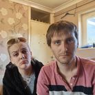 Mathew Thorpe (right) and his sister Leah have been living in Mathew's one bed flat together for over a year