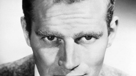 American film and television actor Charlton Heston. Picture: Bettmann Archive