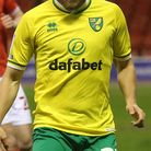 Teemu Pukki of Norwich in action during the Sky Bet Championship match at the City Ground, Nottingha
