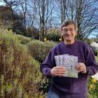 Robin Britton, chair of the Uplyme & Lyme Regis Horticultural Society,