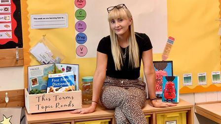 Bucklesham Primary School's Anna Euston has been shortlisted for the new teacher of the year award by Tes.