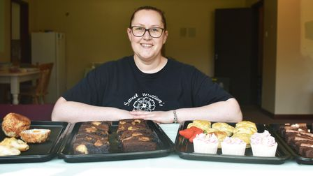 Zoe Hayman-Cox expandedher bakery business to the bowls club pavilion in Chantry Park recently
