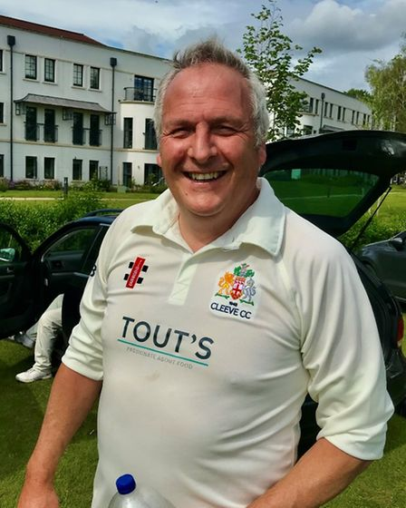 Phil Gostlin took four wickets for Cleeve seconds