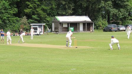Barrow Gurney in action at Abbots Leigh