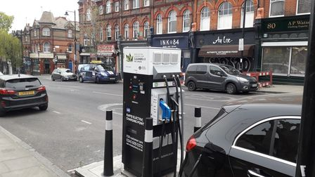 Charging points for electric vehicles are spreading across Islingto
