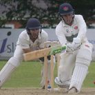 Exmouth against Exeter in Devon Cricket League