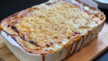 Lasagne made from international ingredients imported by Ipswich-based Corey Brothers