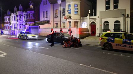 A man was arrested following a stabbing in Craven Park