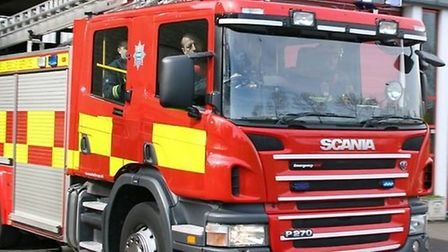 Fire service called to house fire in Huntingdon on Sunday.