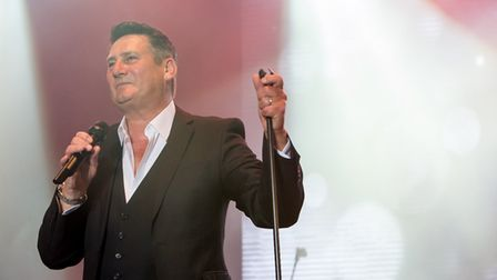 Tony Hadley performing at Let's Rock Norwich! 2017. Picture: LEE BLANCHFLOWER