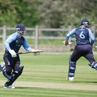 North Mymms V Hertford - Tom Millard and Andy Lewis batting for North Mymms