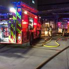 Royston crews were called to the flat block blaze in Goodes Court in April