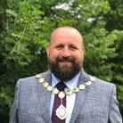 St Neots mayor, Cllr Stephen Ferguson attended the Youth Council meeting.