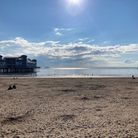 The Grand Pier on a sunny summer's day.