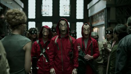Money Heist is a huge global hit. Picture: IMBD