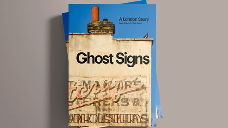 A Book about ghost signs in London.