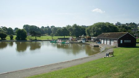 Portishead Lake Grounds. Picture: MARK ATHERTON