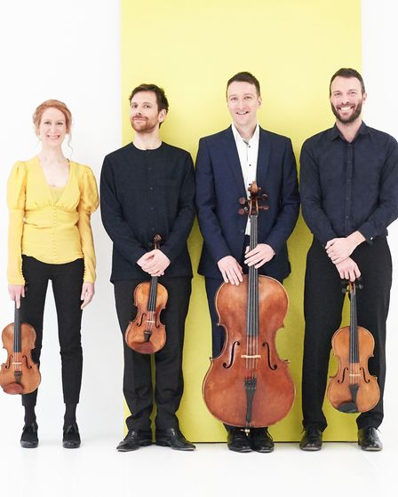 The Heath Quartet will play at Thaxted Festival on Thursday June 24, 2021