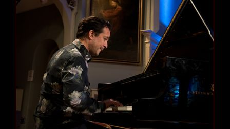 Pianist and improviser Jason Rebello will perform for Thaxted Festival