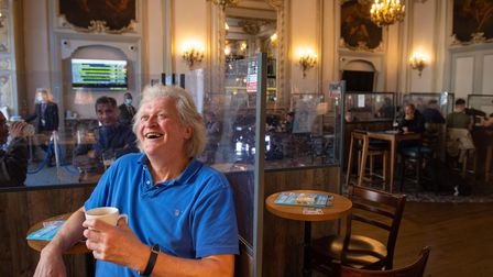 File photo dated 16/10/20 of founder and Chairman of JD Wetherspoon, Tim Martin. The pub giant is se