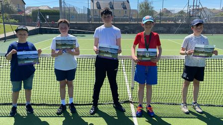 L to R: Oscar Pike, Toby Taylor, Teddie Hindhaugh, Alex Wall, Louis Parry