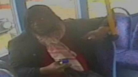 Police wish to speak to this man in connection with assaults on buses in Cricklewood