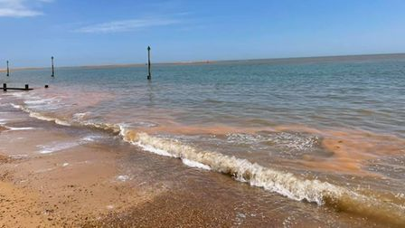 Felixstowe Coastguard Rescue Team were called out to two incidents over the weekend