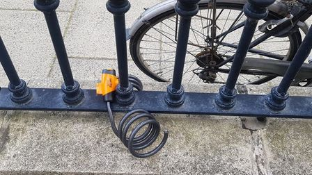 An NHS worker's bike was stolen in Camperdown Great Yarmouth while she was having her nails done.