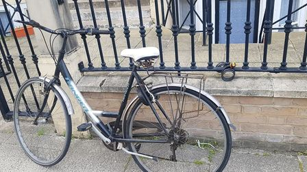 Savjune Bogdaite is appealing for help after her bicycle was stolen in Camperdown Great Yarmouth.