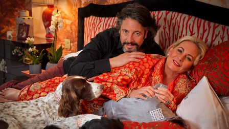 Laurence and Jackie Llewelyn-Bowen at home, 2021