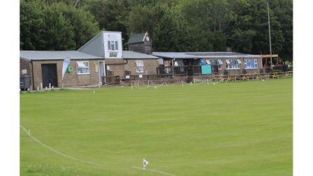 Clevedon CC's Dial Hill.