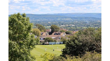 Clevedon Cricket Club's ground - Dial Hill. Picture: Josh Thomas.