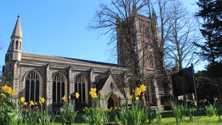 St Peter's Church in St Albans.