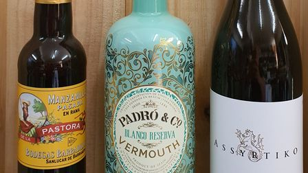 A selection of aperitifs from Flagship Wines.
