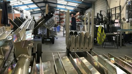 The factory in Lowestoft where Harrod Sport produce world-class sports equipment for clients worldwi