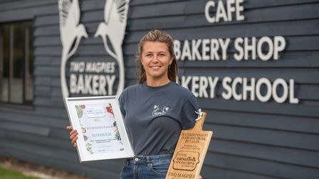 Best Independent food and Drink Retailer -Two Magpies Bakery Jasmin Eagle (Duty Manager) SARAH LUCY