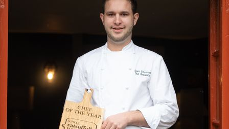 Chef of the Year- Sam Sturman -The Brewers at Rattlesden Picture: SARAH LUCY BROWN