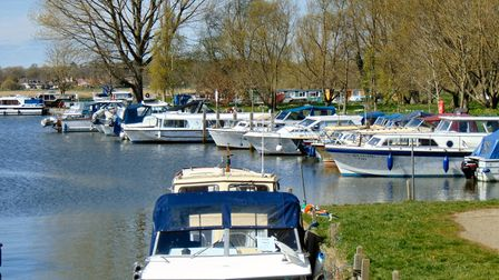 A Spring day at Beccles Quay