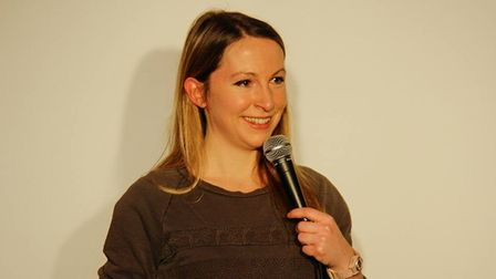 Jenny Collier at Mostly Comedy.