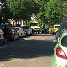 Emergency services attend Hornsey Rise Gardens after reports of gunshots being fired.