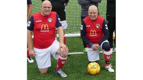Weston joint player-managers Dave Shilton and John Budd