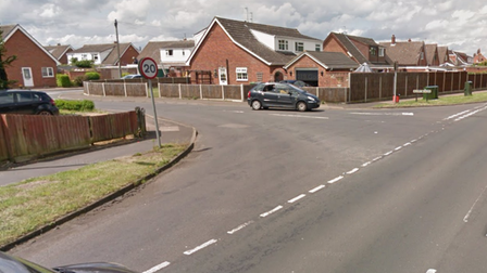 A toucan crossing is being proposed near to the junction of Linacre Avenue, pictured, on Blue Boar Lane in Sprowston