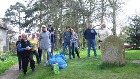 Litter Picking event last year in April in Broughton