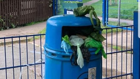 Residents in Dussindale have been complaining about the dog bins in the Thorpe St Andrew area