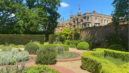 The garden at Knebworth House