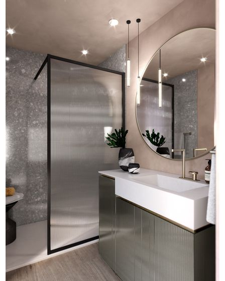 Artelinea specially made bathroom furniture from C.P. Hart in Wilmslow