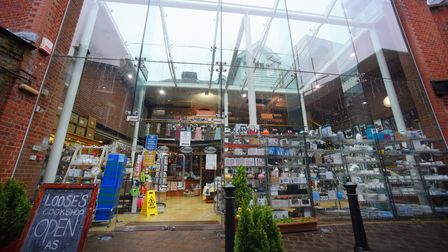 Loose's Cookshop in Red Lion Street, which is closing at the end of June 2018. Picture: DENISE BRADL