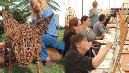 There will be a variety of workshops at Living Crafts.
