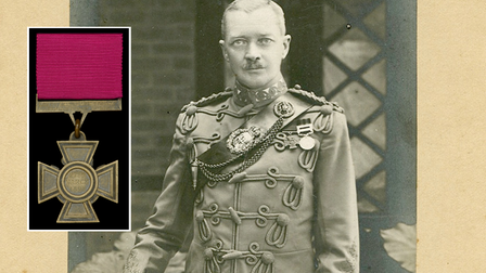 Colonel Charles James William Grant and his Victoria Cross