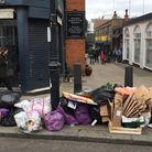 Waste piling up in Heath Street - a common sight say campaigners